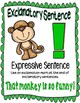 Monkey 4 sentence types posters