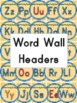 Monkey ABCs and Word Wall