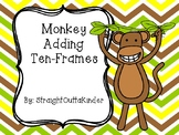 Monkey Adding Ten-Frames