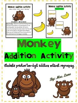 Monkey Addition Activity