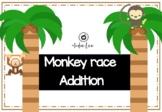 Monkey Addition - Math Race