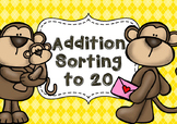 Monkey Addition Sorting to 20