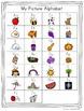 Monkey Alphabet Posters - Rainbow Polka Dot