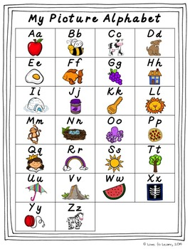 Monkey Alphabet Posters - Rainbow Polka Dot - D'Nealian Manuscript
