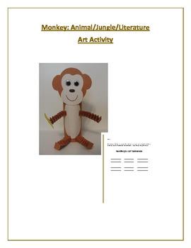 Monkey: Animal/Jungle/Literature Art Activity