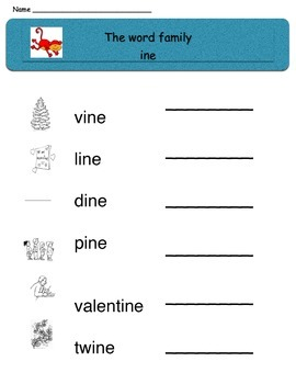 Monkey Around With Word Families