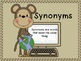 Monkey Around with Antonyms and Synonyms