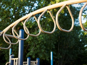 Monkey Bars at the Playground - for Personal and Commercial Use