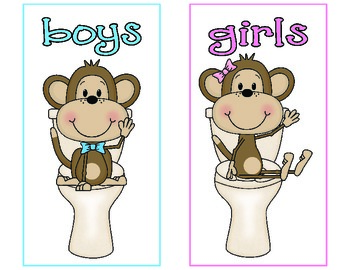 Monkey Bathroom Passes and Bathroom Checkout