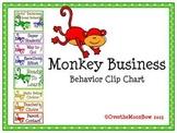 Monkey Business Behavior Clip Chart
