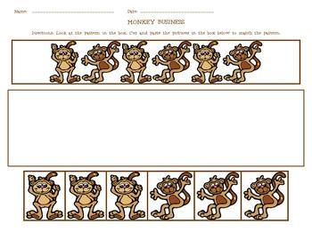 Monkey Business Pattern Match