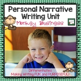 Personal Narrative Writing Unit Grades 1-3