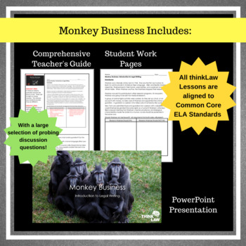 Monkey Business: Using Court Cases for Persuasive Writing