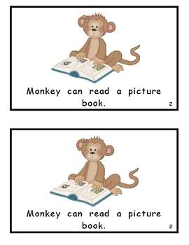Monkey Can . . . Wonders Kindergarten Reader (Unit 1)
