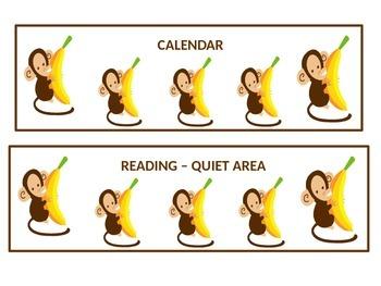 Monkey Center Signs
