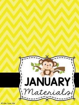 Monkey Themed Classroom Decor