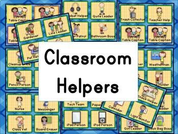 Monkey Classroom Helpers