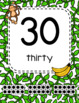 #roomdecor Monkey Classroom Number Posters  with Number Words & Ten Frames