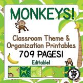 Classroom Theme Decor / Organization - Mega Bundle (Editab