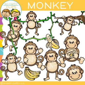 Monkey Clip Art