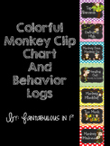 Monkey Clip Chart (Colorful)