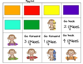 Monkey Color Matching Game