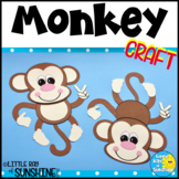 Monkey Craft for Jungle or Zoo