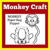 Monkey Craft | Monkey Activity | Monkey Craftivity
