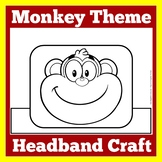 Monkey Craft | Monkey Activity | Monkey Themed Classroom | Monkey Theme