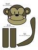 Monkey Craft for Back to School Bulletin Board