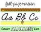Monkey Cursive Alphabet Line - Polka Dot
