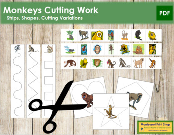 Monkey Cutting Strips