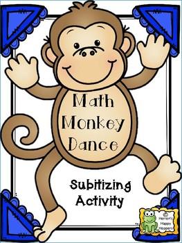 Monkey Dance Dot Cards