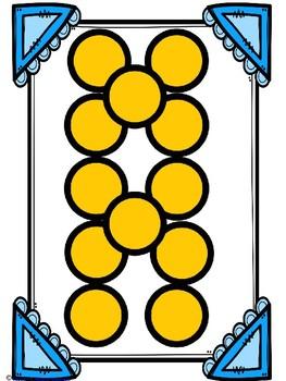 Subitizing Dot Cards - Monkey Dance