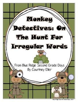 Monkey Detectives: On The Hunt For Irregular Phonetically Spelled Words