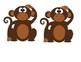 Monkey Door Decoration: Swinging into First Grade!