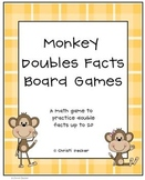 Monkey Doubles Facts Board Games