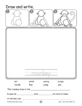 Monkey (Draw...Then Write)
