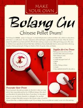 Monkey Drum (Chinese New Year Drum) Craft