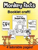 Monkey Facts Booklet Craft EASY FUN CUTE!