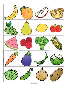 Monkey Feed Fruit Vegetables Sorting for Toddler, Preschool, Kindergarten