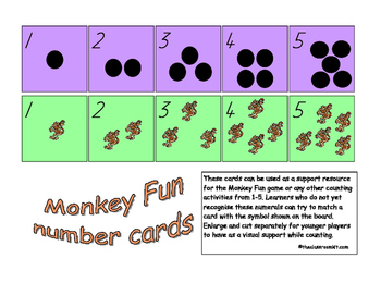 Monkey Fun - Counting to 5