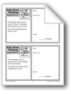 Monkey Fun (Grade 2 Daily Word Problems-Week 28)