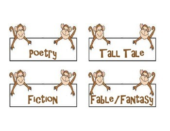 Monkey Genre Labels