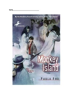 Monkey Island Reading Guide Question Packet