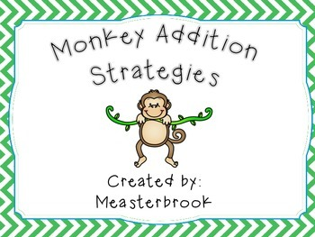 Monkey Jungle Addition Strategy Posters and Practice