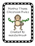 Monkey Jungle Theme Rules