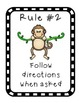 Monkey Jungle Theme Rules