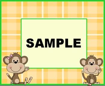 Monkey Labels