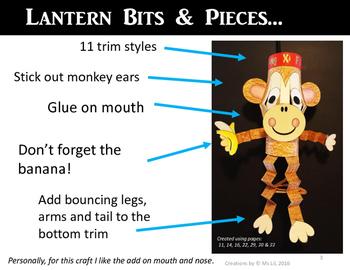 Monkey Craft ::  Chinese New Year Craft  ::  Year of the Monkey Craft ::
